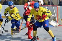 Hokejbalisté Nového Strašecí smetli Jungle Fever Kladno 5:1.