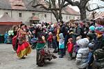 Z Královského adventu na hradě Křivoklát.