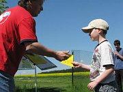 Momentky z okresních přeborů v leteckém modelářství mládeže