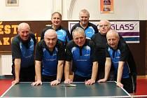 Patří mezi elitu. KK Rakovník patří už k tradičním účastníkům nejvyšší krajské soutěže stolních tenistů