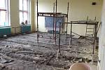 V čistecké škole začala další rekonstrukce.