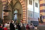 Slavnost Zmrtvýchvstání Páně v kostele sv. Bartoloměje v Rakovníku.