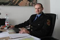 Stanislav Jahelka, vrchní strážník Městské policie Nové Strašecí.