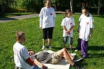 Okresní soutěž mladých zdravotníků 2011