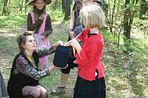 Čarodějný les v Jesenici 2011