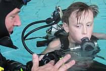Den oteřených dveří rakovnického Klubu potápěčů Manta