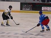 Hokejisté HC Rakovník zdolali v 6. kole krajské ligy Slaný 5:4.