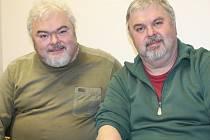 Tomáš(vpravo) a Milan Bednaříkovy