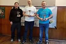Turnaj šipkařů vyhrál Jan Rátočný, druhý byl Josef Páv a na třetí příčce skončil Jiří Svět.