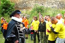 Lidé z rakovnického regionu si opět zasoutěžili ve stínu hradu Krakovce