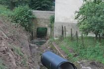 Úprava Hájenského potoka v Hořesedlích