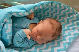 NIKOLAS PROCHÁZKA, RAKOVNÍK. Narodil se 8. prosince 2018. Po porodu vážil 3,8 kg a měřil 51 cm. Rodiče jsou Zuzana a Tomáš. Sestra Helenka.
