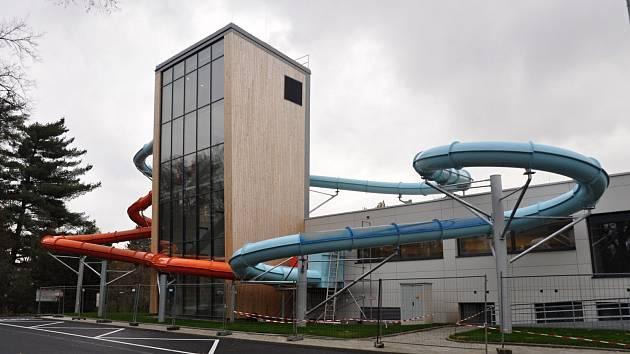Rakovnický aquapark.
