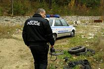 Se strážníky městské policie vyrazil do terénu i Rakovnický deník.
