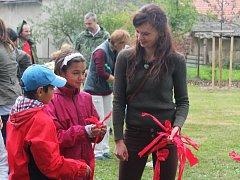 Slavnostní otevření nově upravené zahrady u MŠ v Jesenici