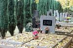 Návštěva na rakovnickém hřbitově