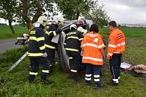 Tragická nehoda na Rakovnicku, sobota 18. května 2013