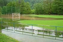 Fotbalové hřiště v Městečku - 2.6.2013 odpoledne
