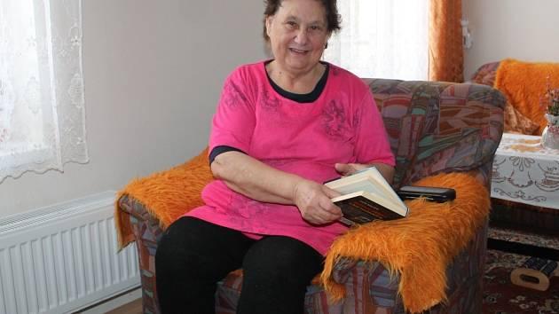 Marie Krejzová je v domě spokojená