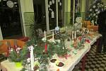 V Šanově se uskutečnil adventní jarmark a rozsvítil se vánoční stromek.