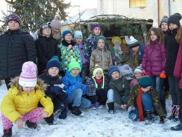 Tříkrálové koledování v Lišanech