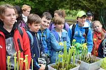 V botanické zahradě se konala soutěž pro děti, tentokráte hlavním tématem byly chráněné rostliny