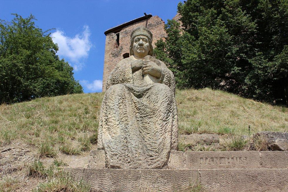 Hrad Krakovec.