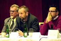 Zastupitelé zleva: Václav Laňka, Miroslav Koloc a Marek Pavlík