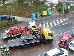 Nehoda v centru Rakovníka