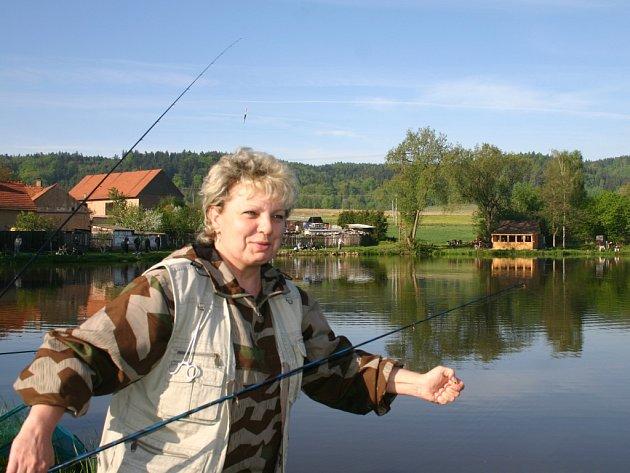 Rybářské závody v Řeřichách
