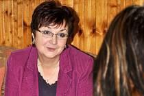 Psycholožka a ředitelka Centra psychologicko – sociálního poradenství v Rakovníku Marcela Škábová