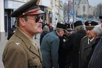 Den válečných veteránů na Husově náměstí v Rakovníku 2016
