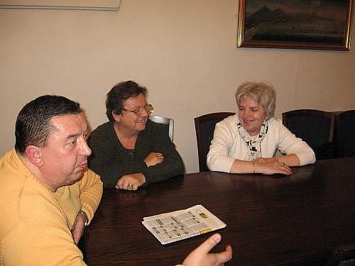 Schůzka na rakovnické radnici