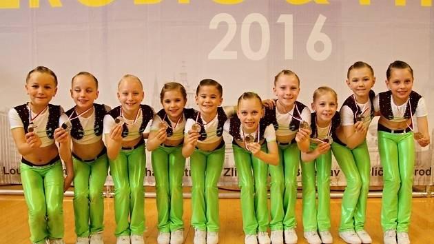 Dívky z týmu Shrek vybojovaly v pražských Petřinách stříbro