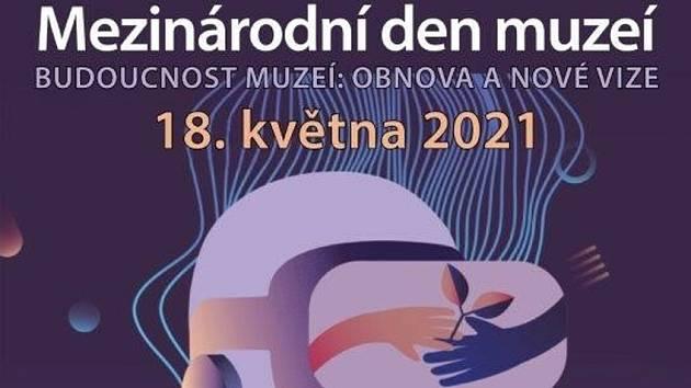 Plakát k Mezinárodnímu dni muzeí na Rakovnicku.