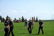 Okresní kolo soutěže v požárním sportu v Chrášťanech