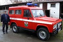 Zásahové vozidlo SDH Kostelík si zahrálo ve filmové povídce