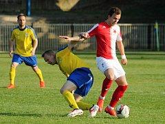 SK Rakovník v divizním šlágru prohrál s Karlovými Vary po penaltách. V základní hrací době remizoval 2:2.