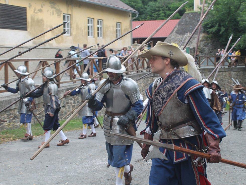 Obsazení Křivoklátu švédskými vojsky