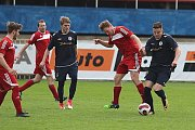 Z fotbalového utkání I.B třídy SK Rakovník B - Zavidov (3:3, PK 3:2)