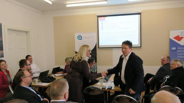 Konference se zúčastnila PhDr. Marie Kaufmann, předsedkyně Výboru pro hospodářský a regionální rozvoj.