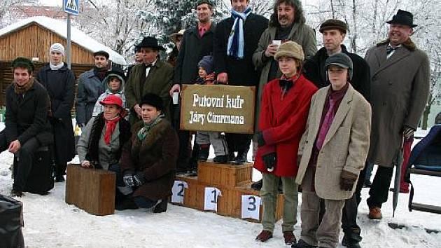 Silvestrovský běh J. Cimrmana Nové Strašecí