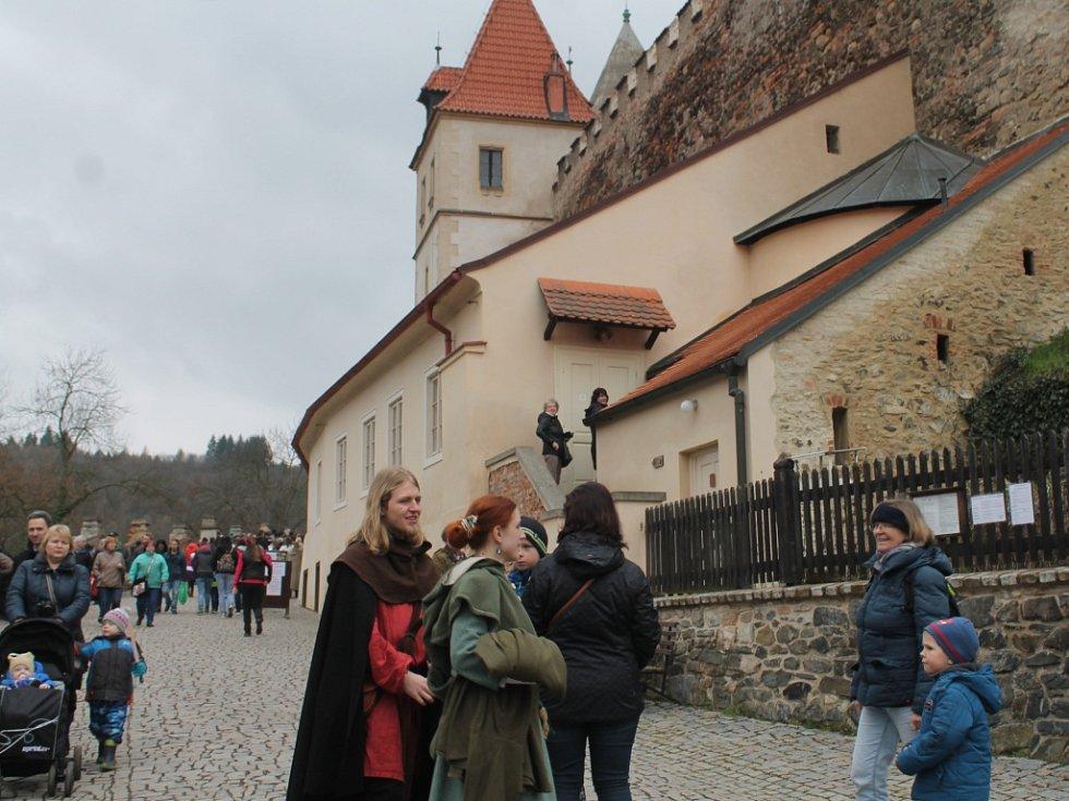 Velikonoce na hradě Křivoklátě