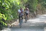 První cyklisté se vydali z Městečka do Křivoklátu