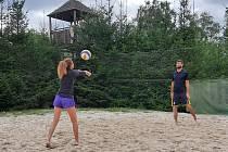 Přílepský turnaj v plážovém volejbale.