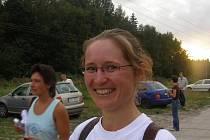 Nejrychlejší žena Gabriela Raková ze Hvozda po závodě.