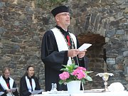 Nejen bohoslužba přilákala na Krakovec mnoho návštěvníků.