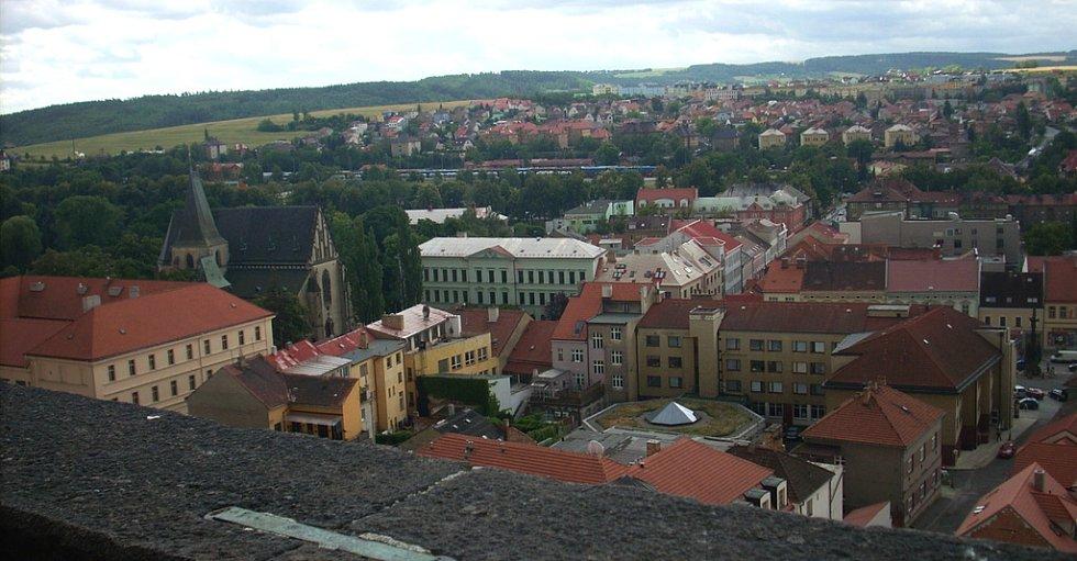 Výhled na město Rakovník