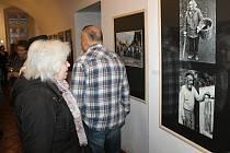 Slavnostní vernisáž 53. členské výstavy fotoklubu Amfora Rakovník.