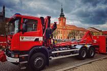 Oslavy 50 let od založení hasičské zbrojnice v Rakovníku.